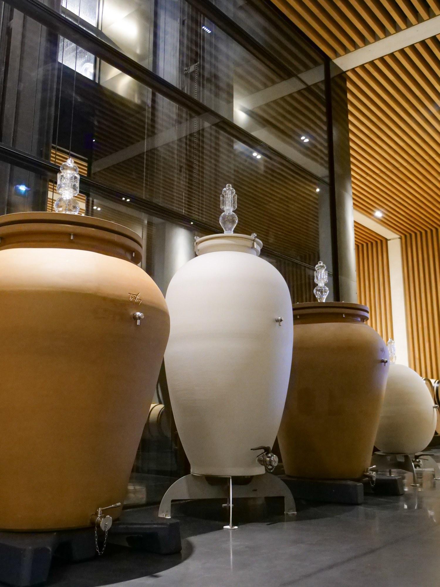 A trial of amphorae at Château Pédesclaux - Chateau Pedesclaux