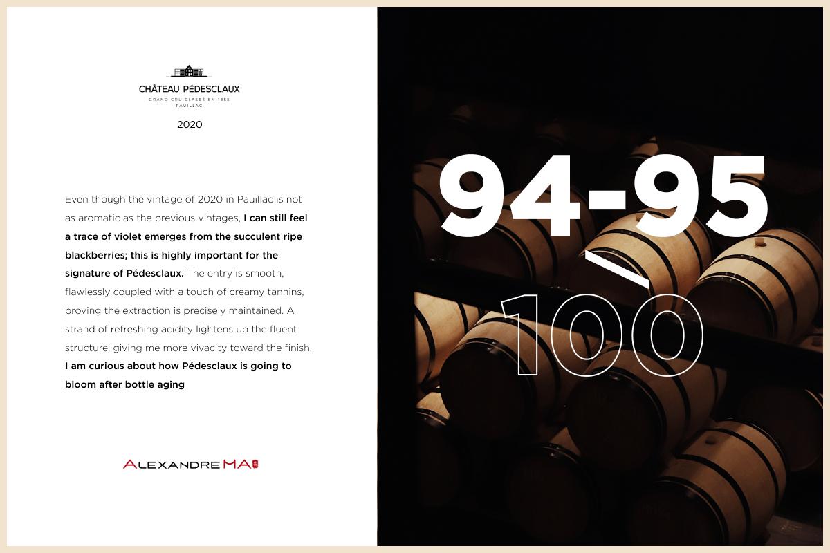 Château Pédesclaux 2020 is now available En Primeur - Chateau Pedesclaux